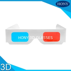Popular anaglyph 3d glasses red cyan For Normal PC / 3D Books And 3D Magazines