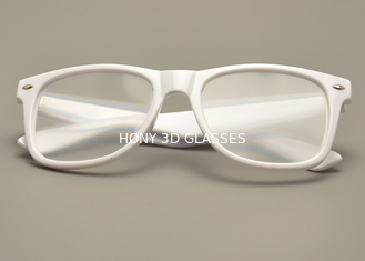 Make Custom Logo Plastic Passive Circular Polarized Real D 3D Glasses For Cinemas