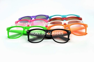 Colorful Frame Plastic Diffraction Glasses For Fireworks From Hony